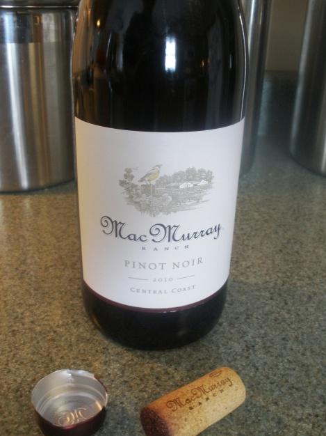 Pinot Noir- Mac Murray